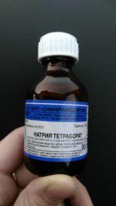Тетраборат натрия для лизуна