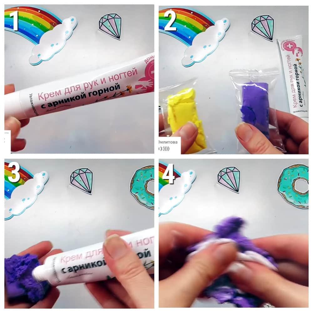 как сделать лизуна из пластилина