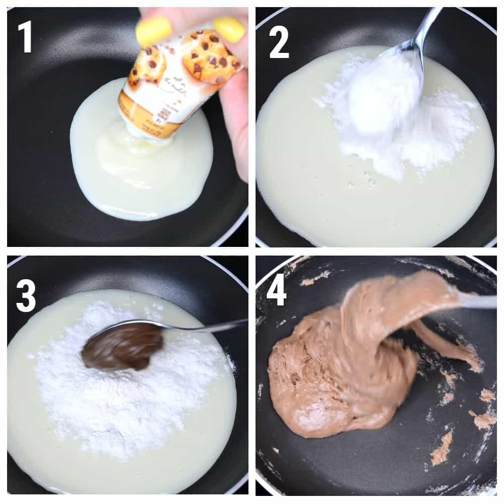 рецепт слайма без клея и тетрабората натрия