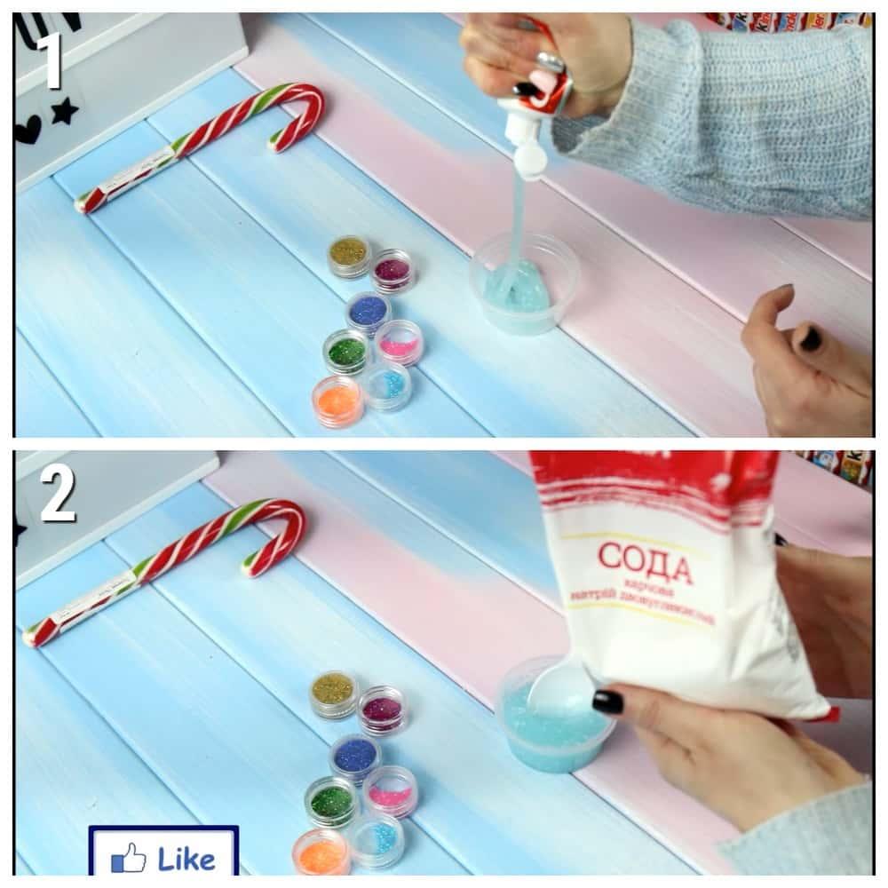рецепты слаймов без клея и тетрабората натрия в домашних условиях