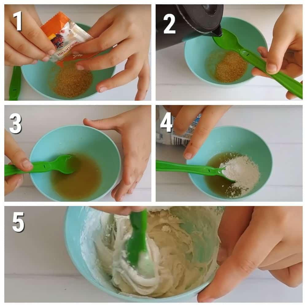 как сделать слайм из желатина