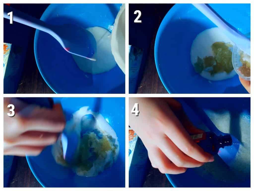 слайм из желатина
